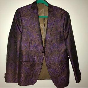 Men's Patterned Blazer